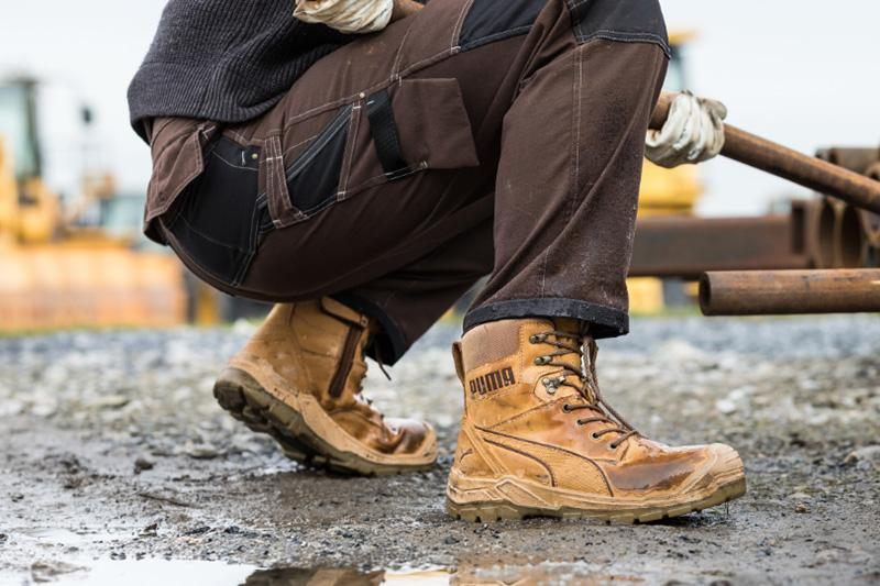 Conquest Wheat High, les chaussures de sécurité montantes de
